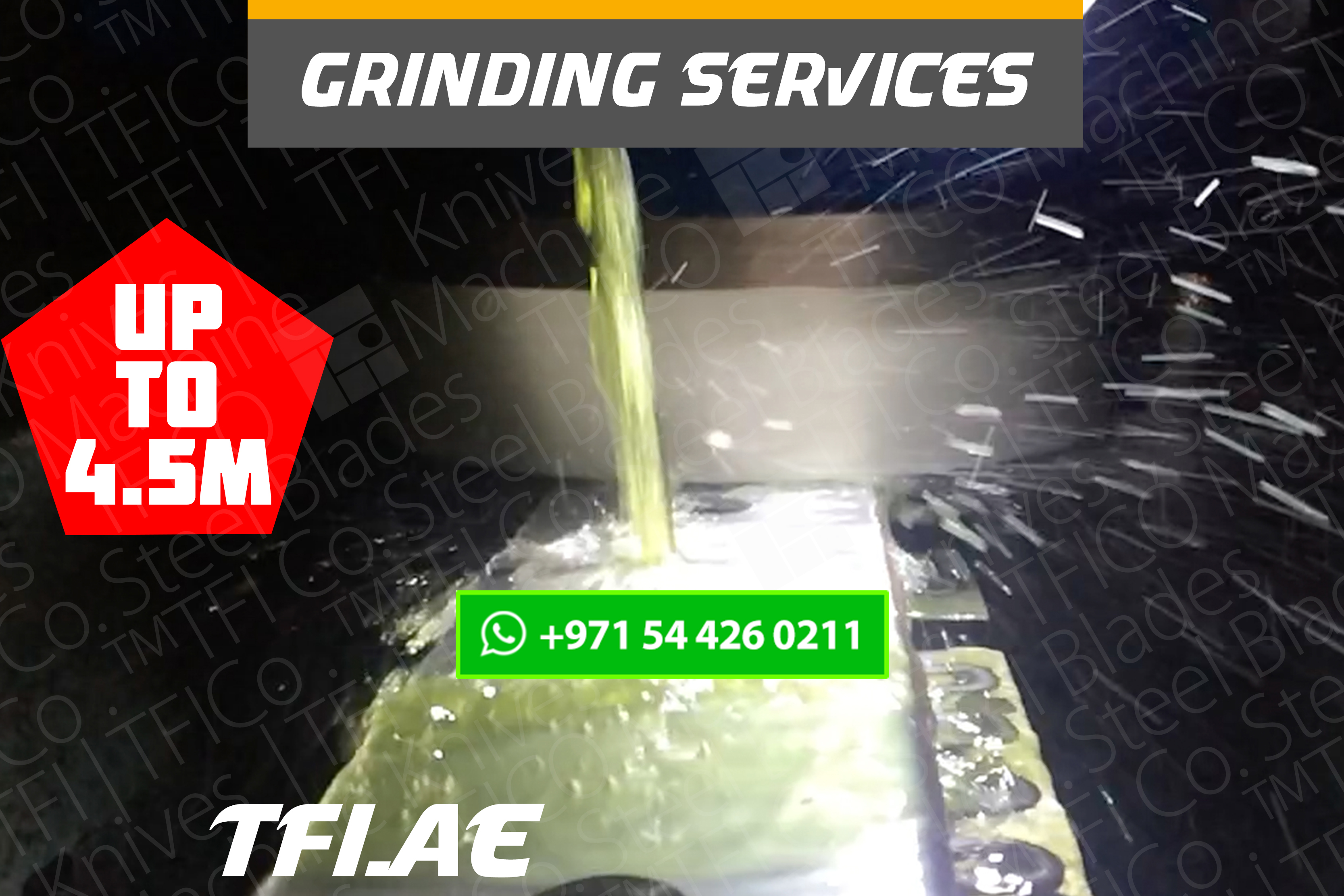 grinding, sharpening, services, tfico, machine knives, steel blades, uae, dubai, qatar, tungsten, shear blade, long , shine cut